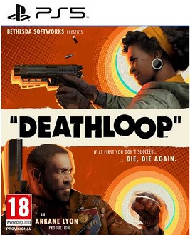 Deathloop PS5 cover