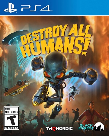 Destroy All Humans - PS4 cover