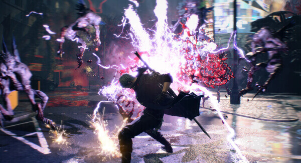 Devil May Cry 5 - powers