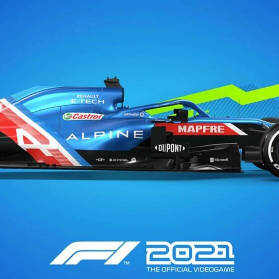 f1 2021 - icon