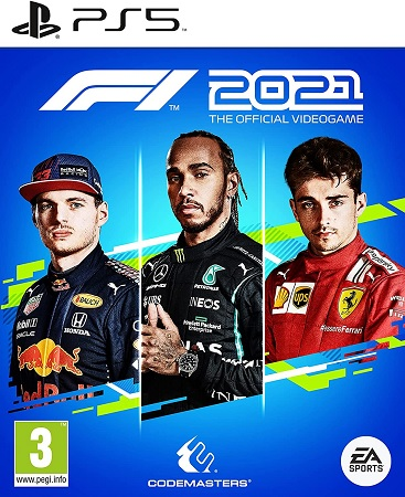 F1 2021 - PS5 cover