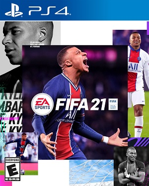FIFA 21 - PS4 cover