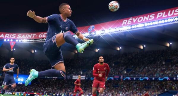 FIFA 22 kick