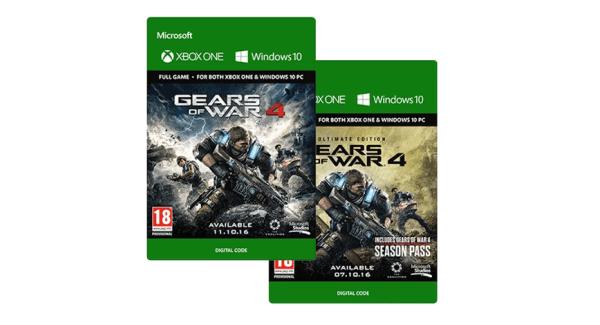 Gears of War 4 Digital Code