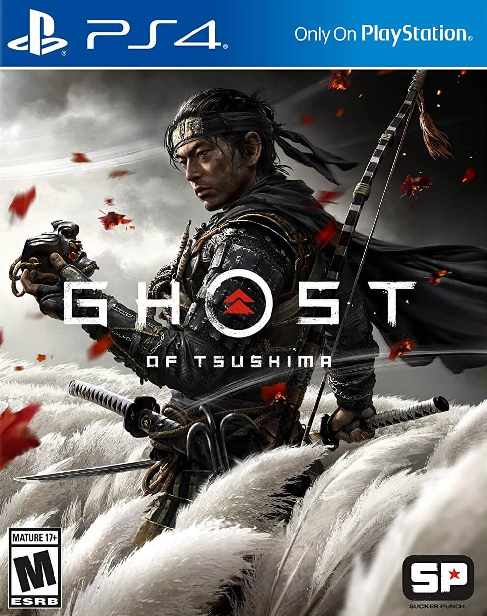 Ghost of Tsushima PS4 boxart
