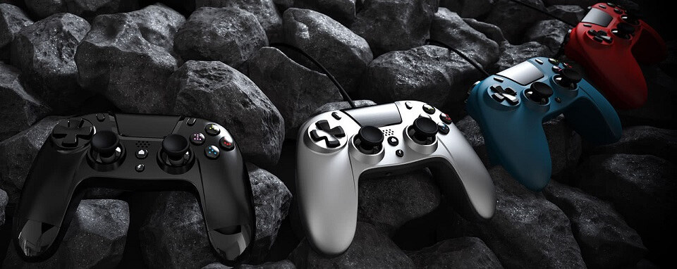 Gioteck VX4 and WX4 controllers