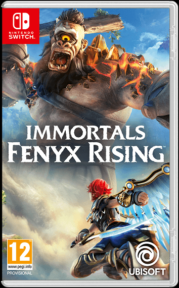 Immortals Fenyx Rising - Nintendo Switch cover