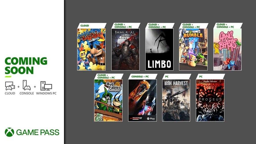 June 2021 Xbox Game Pass