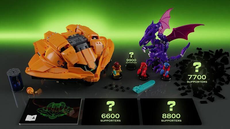 LEGO ideas - Metroid set