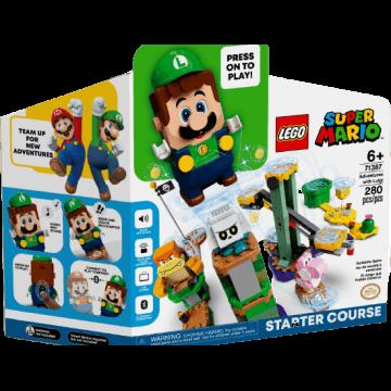 LEGO Luigi starter course set