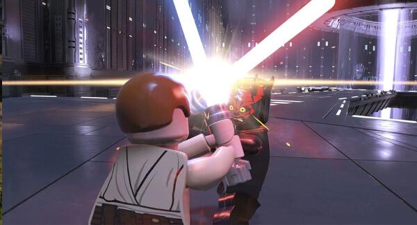Lego Star Wars The Skywalker Saga - saber duel