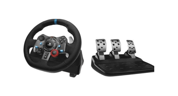 Logitech G29 Racing Wheel with Logitech Shifter