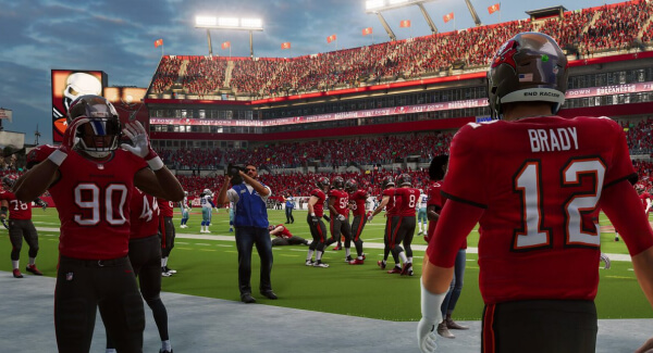 Madden NFL 22 Brady