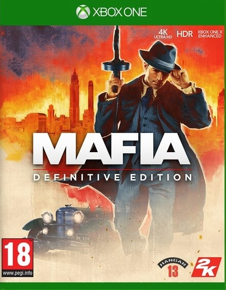 Mafia Definitive Edition - Xbox One cover