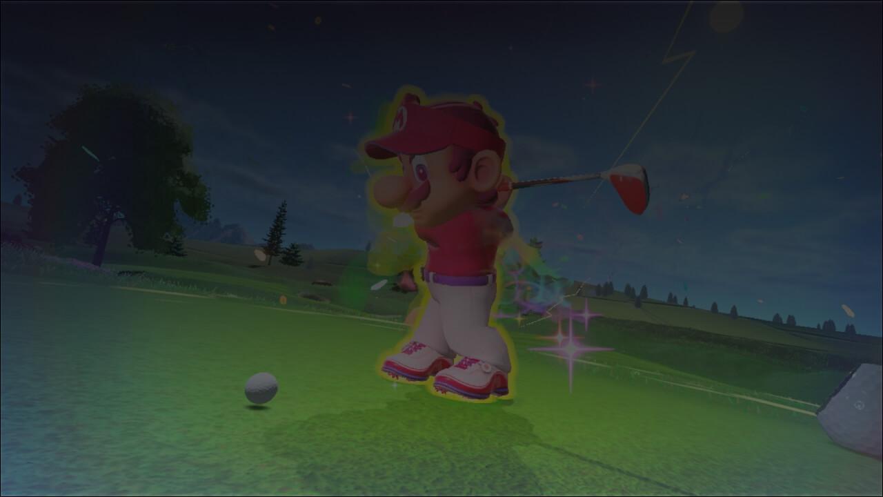 Mario Golf Super Rush - background