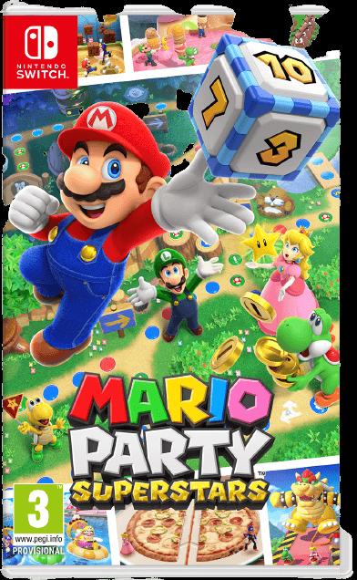 Mario Party Superstars Box Art