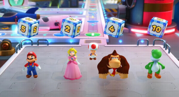 Mario Party Superstars characters