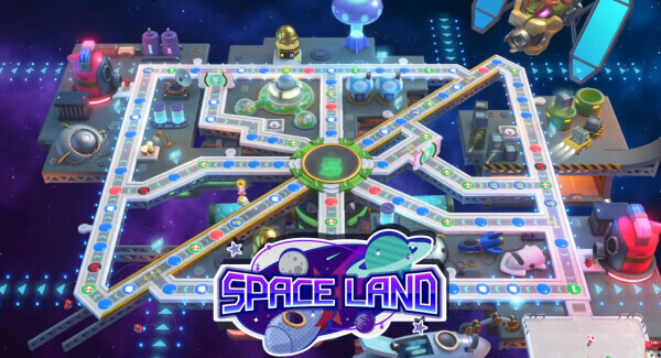 Mario Party Superstars Space Land