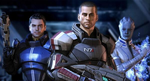 Mass Effect Legendary Edition shepard