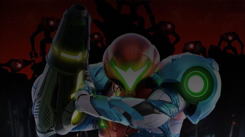 Metroid Dread Background