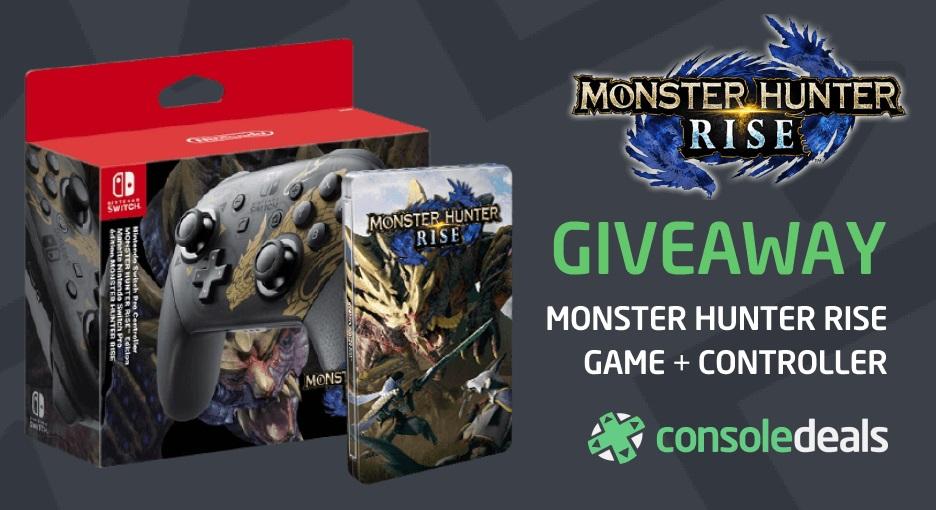Monster Hunter RIse prize pack - giveaway