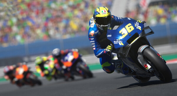 MotoGP 21 - lean