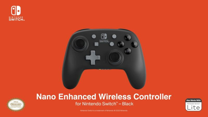 Nano Enhanced Wireless Controller - Black