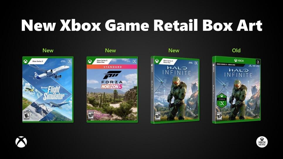 New Xbox Retail box art