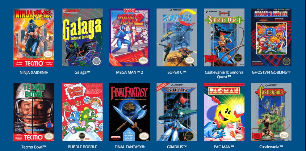 Nintendo Classic Mini Games