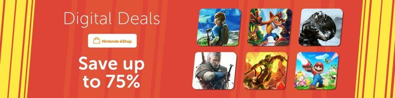 Nintendo Digital Deals sale
