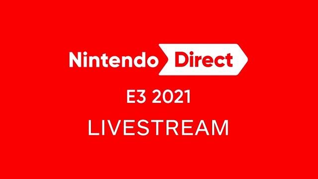 Nintendo Direct E3 livestream
