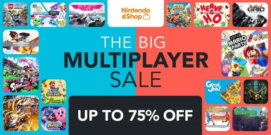 Nintendo eShop - The Big Multiplayer Sale
