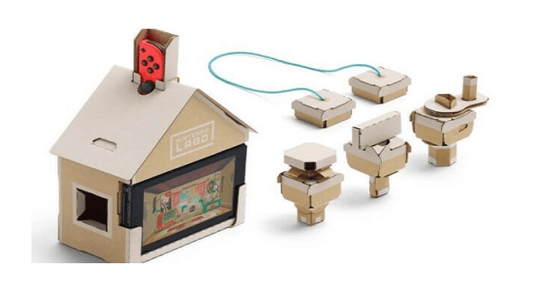Nintendo labo house kit