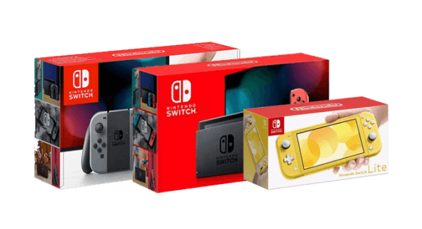 Nintendo Switch console family