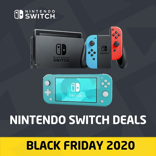 Nintendo Switch deals - Black Friday 2020