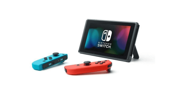 Nintendo Switch detatched Joy-Cons