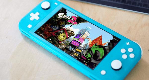 Nintendo Switch Lite Turquoise Splatoon 2