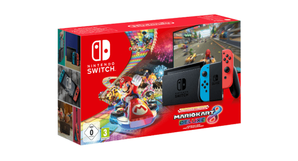 Nintendo Switch - Mario Kart 8 bundle