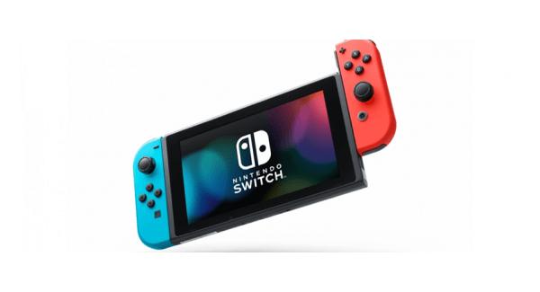 Nintendo Switch Neon Diagonal