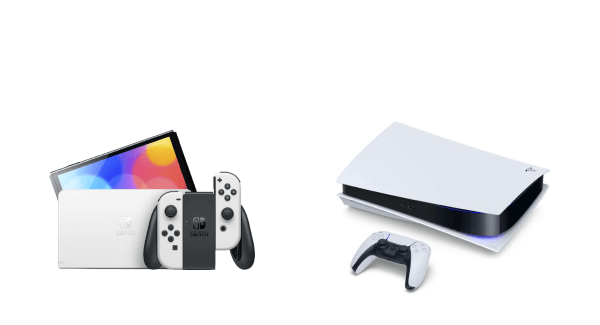 Nintendo Switch OLED and PS5