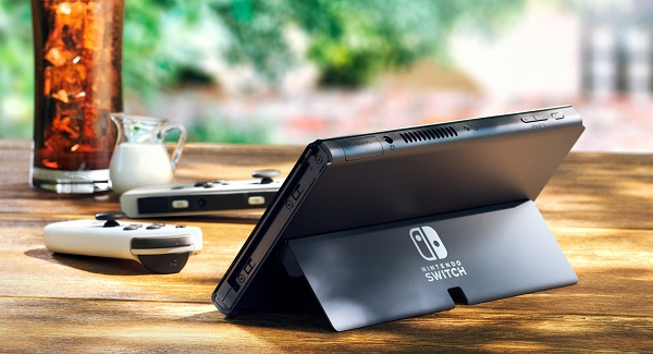 Nintendo Switch OLED Model - wide stand