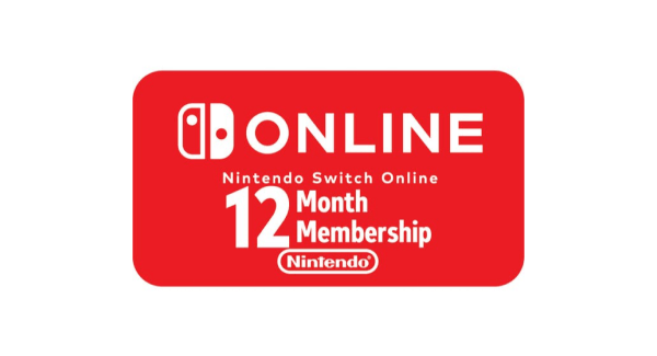 Nintendo Switch Online - 12 months