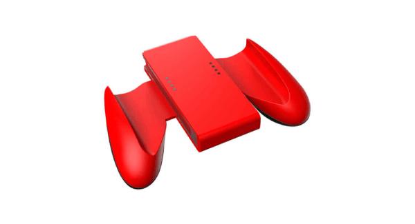 Nintendo Switch red Joy-con grip