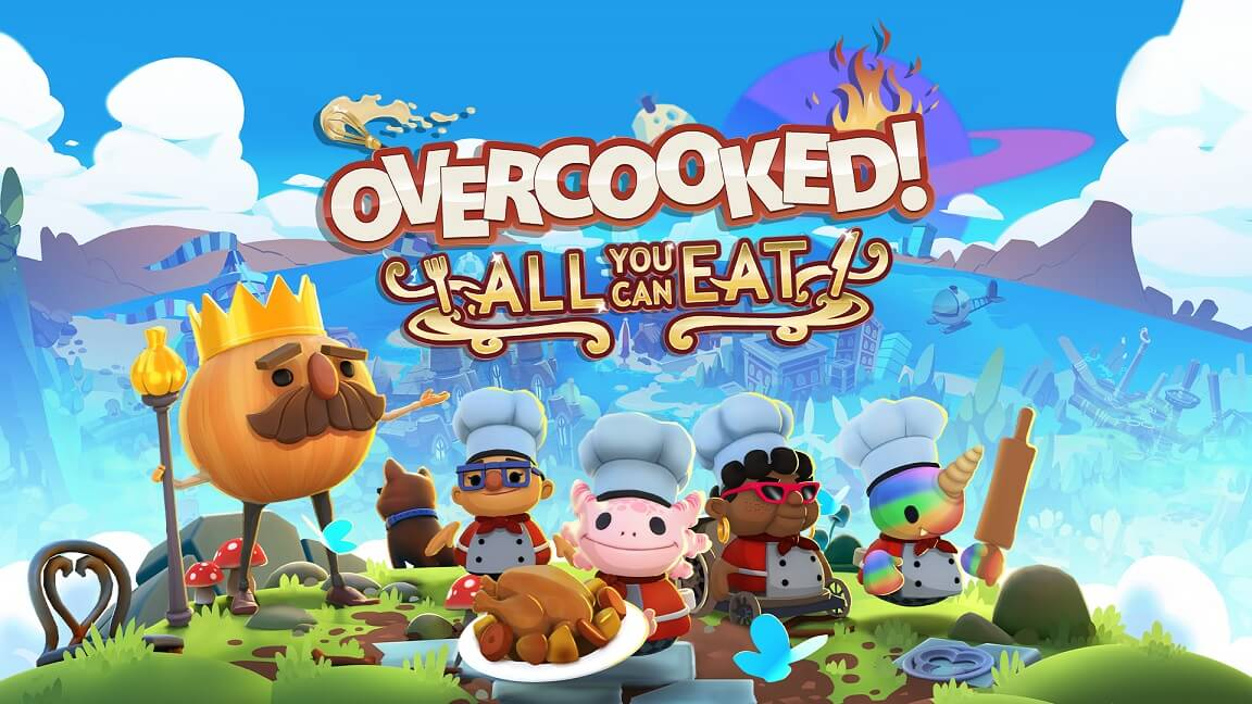 Overcooked all you can eat - 2 player PS5