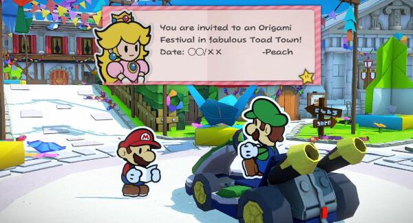 Paper Mario - Car