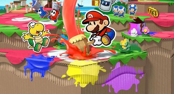 Paper Mario - Splash