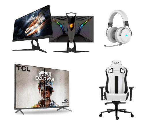Best Gaming Setup - Deals on Gaming TV's, Monitors and Chairs
