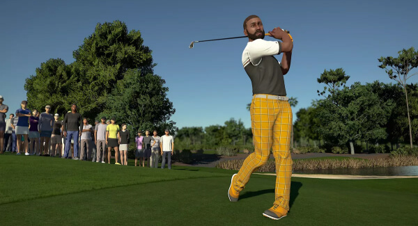 PGA 2K21 - golf swing