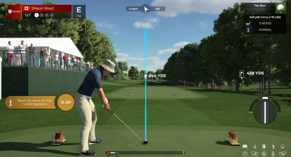 PGA 2K21 - golfer