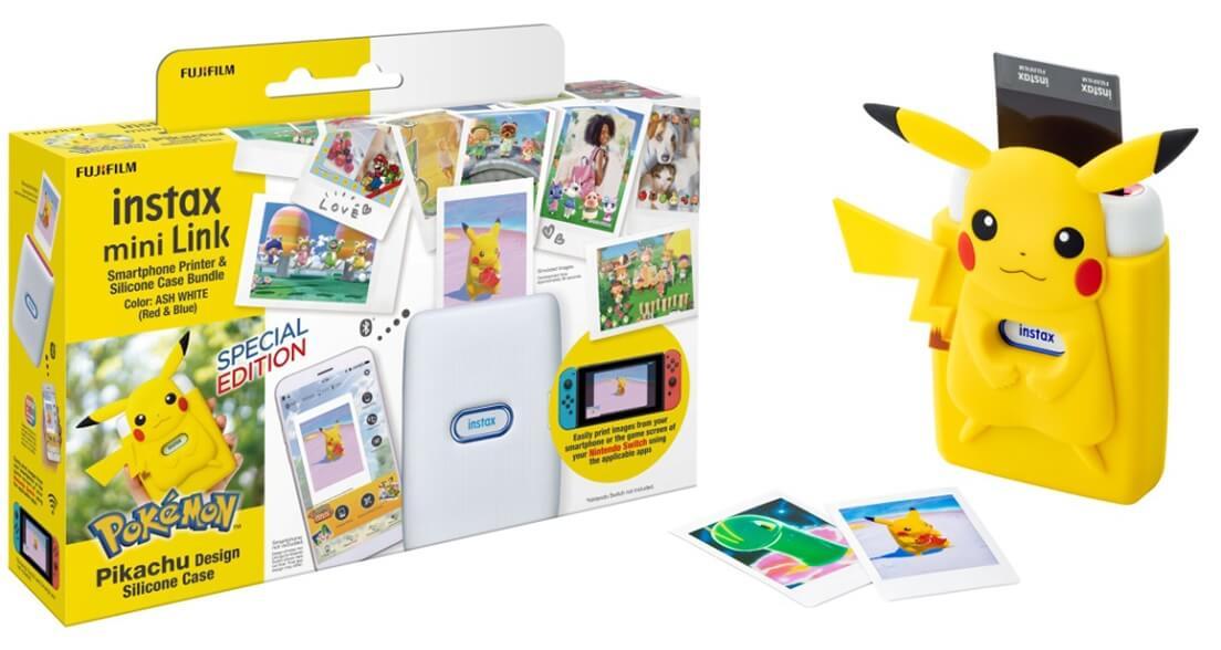 Pikachu Instax printer